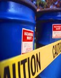 Hazardous waste containers. (Source: <a href='http://www.epa.gov' class='external text' title='http://www.epa.gov' rel='nofollow'>U.S. EPA</a>)
